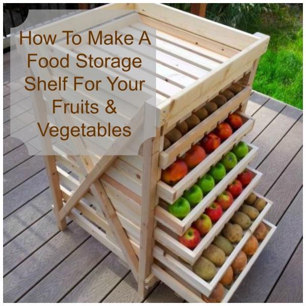 Make Your Own Food Storage Shelf