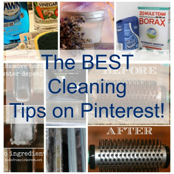 Hands Down, The BEST Cleaning Tips You Will Find On Pinterest
