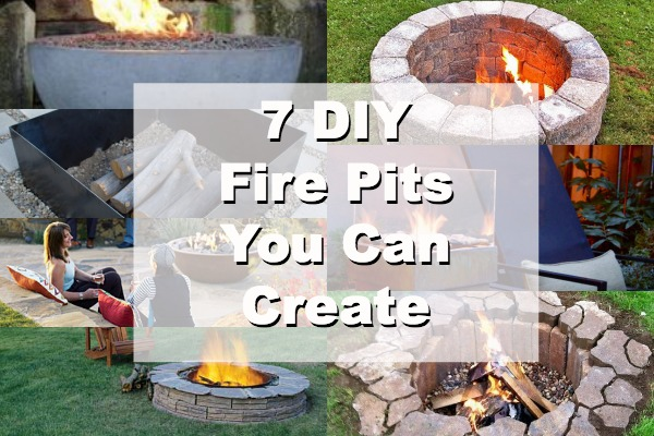 Make Your Own Outdoor Fire Pit - Home and Garden on Building Your Own Outdoor Fireplace id=21248