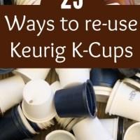Reusing K-Cups