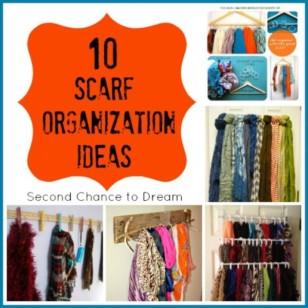 storage solutions for your scarves home and garden