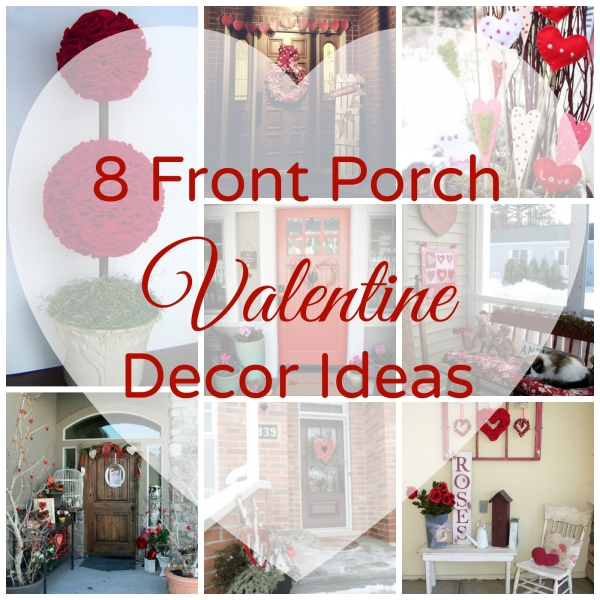 8 front porch valentine decor ideas home and garden for Cupid decorations home