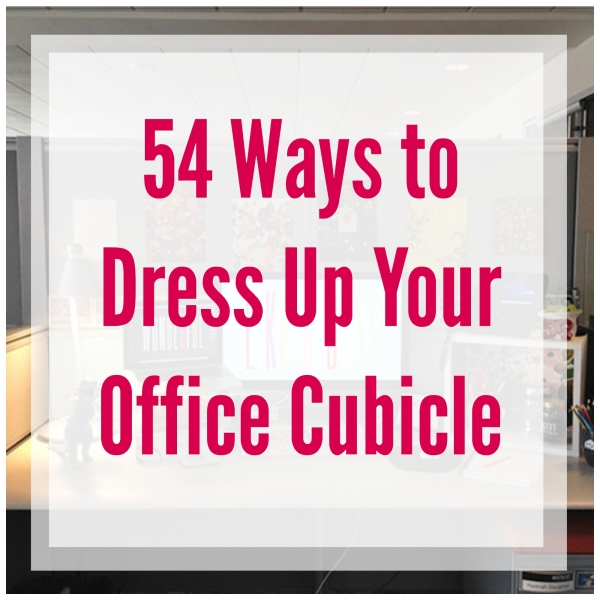 Cubicle Décor Ideas To Make Your Home Office Pop: How To Add A Personal Touch To Your Office Cubicle