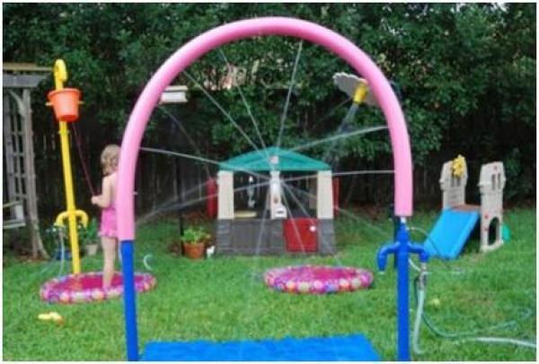 backyard sprinkler park from event horizons