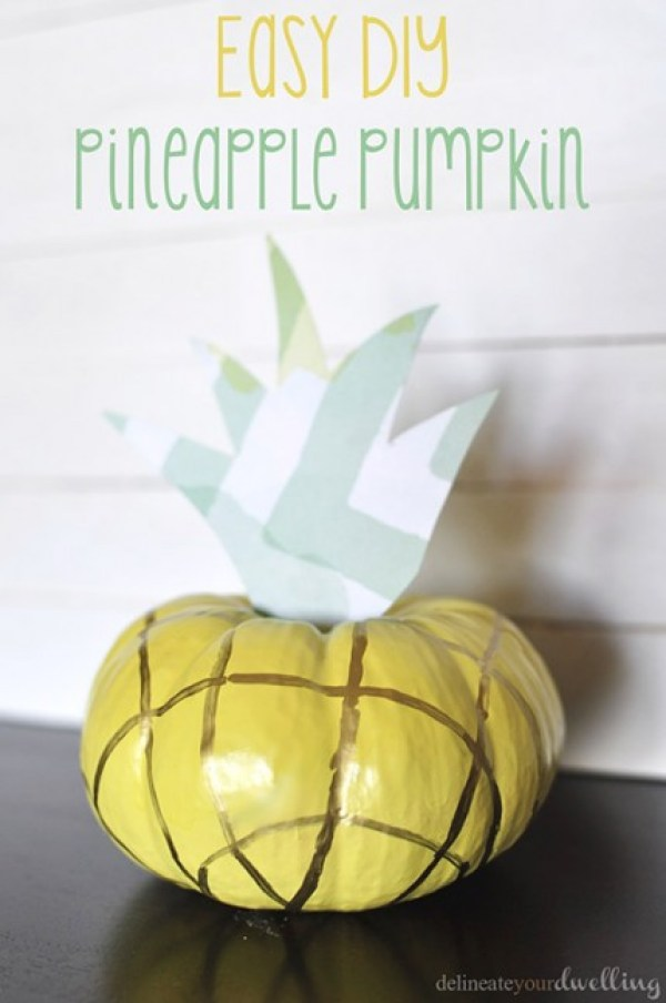 Easy-DIY-Pineapple-Pumpkin