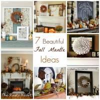 7 Beautiful Fall Mantle Ideas