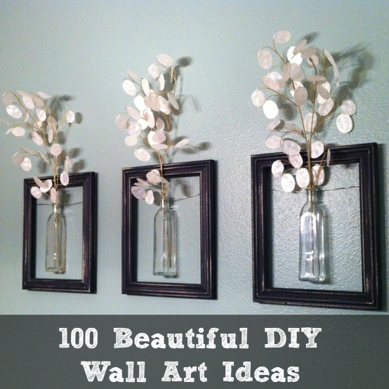 25 Wall Decoration Ideas For Your Home: Ideas For Making Your Own Wall Art