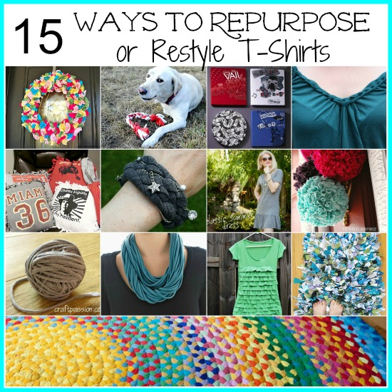 craft ideas for old t shirts 15 ways you can still use that t shirt home and garden 7594