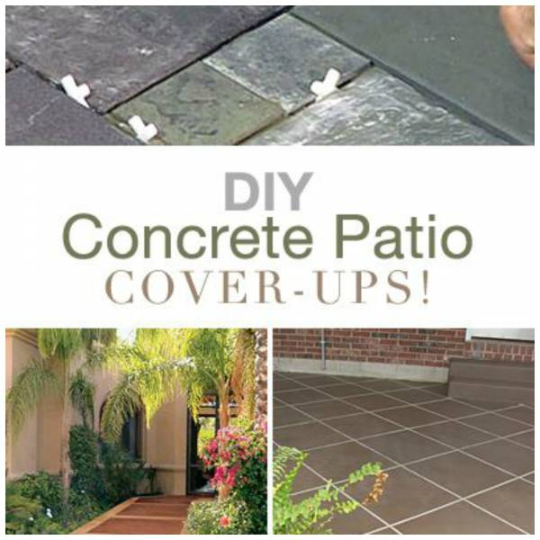 Patio Ideas With Existing Concrete Slab: DIY Ideas To Update Your Worn Out Concrete Patio