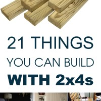 DIY Woodworking Projects Made From a 2x4