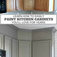 Paint Your Kitchen Cupboards -The Easy Way