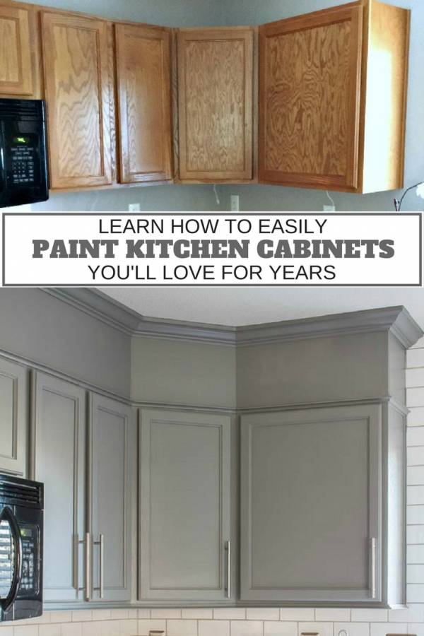 One Simple Can Of Paint Can Give You A Completely Different Look To Your  Outdated Or Boring Kitchen. This Tutorial Shows You How To Paint Your  Cupboards The ...