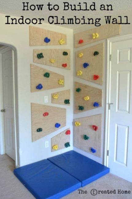 DIY Climbing Wall – Home and Garden