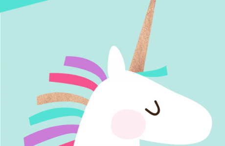 Printable Wall Art – Unicorn