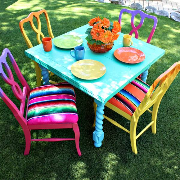 Thrift Store Furniture Makeover Home And Garden