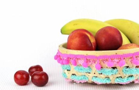 DIY – Pom Pom Fruit Bowl