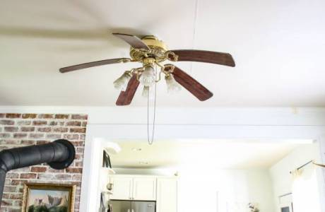 DIY – Turn you old fan in to an Industrial Ceiling Fan