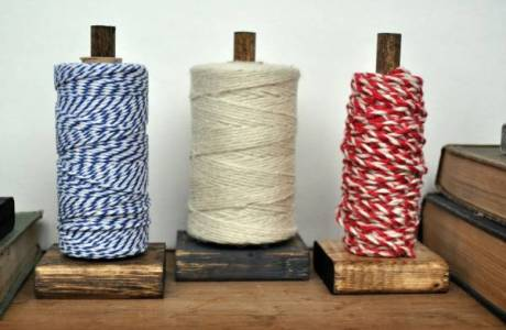 DIY Rustic Twine Holders