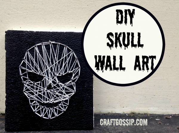 Halloween Wall Art halloween skull wall art – home and garden