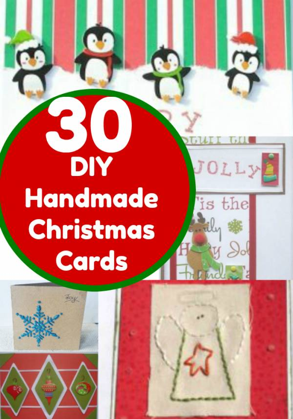 30 christmas cards you can make yourself home and garden handmade christmas cards are a great way to send a little extra love and thought this holiday season we have composed this massive list of handmade solutioingenieria Images