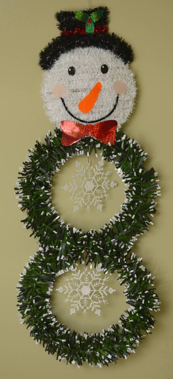 Make A Snowman Out Of Dollar Store Items