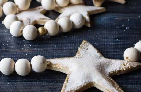 DIY Salt Dough Christmas Garland
