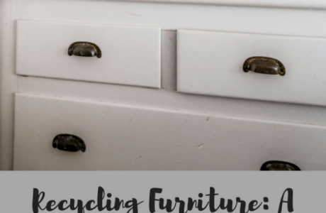 Recycling Furniture: A Brand New ( old ) Dresser
