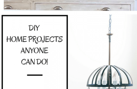 12 DIY Home Projects ANYONE can Make.