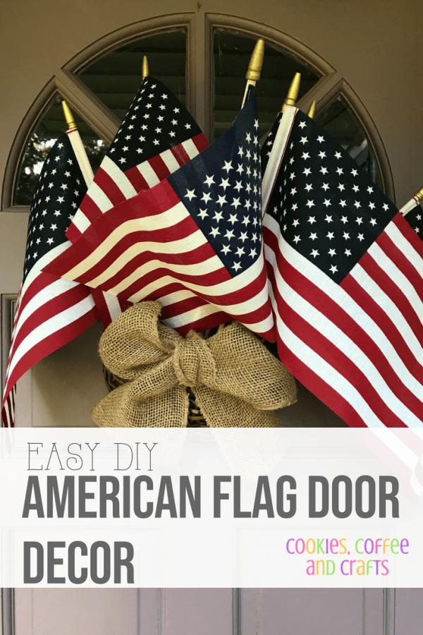 Easy DIY American Flag Decor