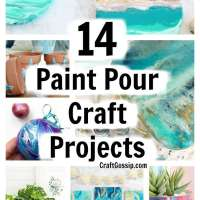 14 Paint Pouring Projects You Can Try
