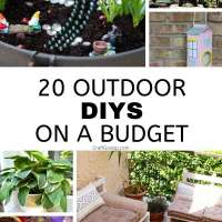 20 Outdoor DIY's On A Budget