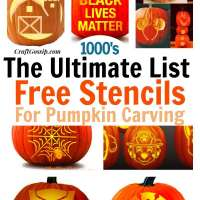 The ultimate pumpkin carving list of over 1000+ free stencils and templates