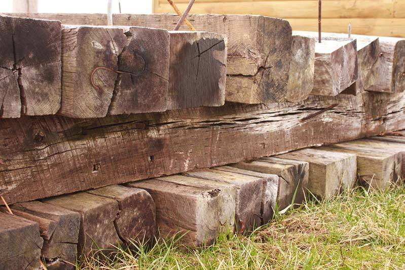 Landscaping With Railroad Ties