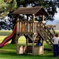 Dětské hřiště na zahradě? Žádný problém