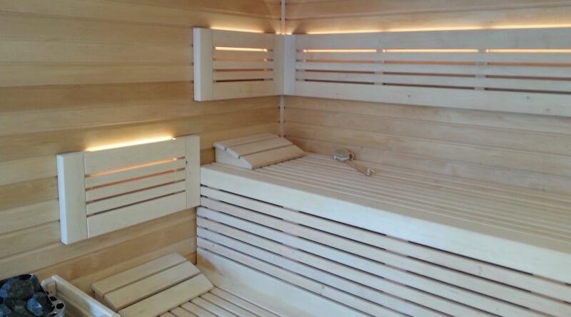 lavice do finské sauny