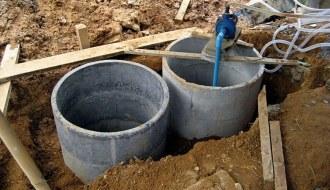 betonová žumpa