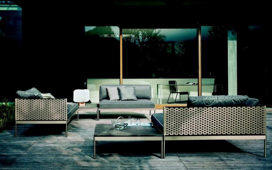 Roda outdoor furniture collection by Gunni & Trentino