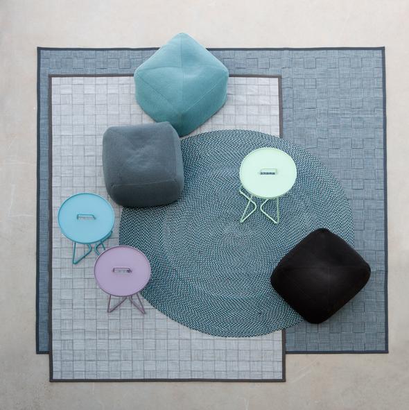 Cane-line-Outdoor-carpets,-poufs-and-tables_web4
