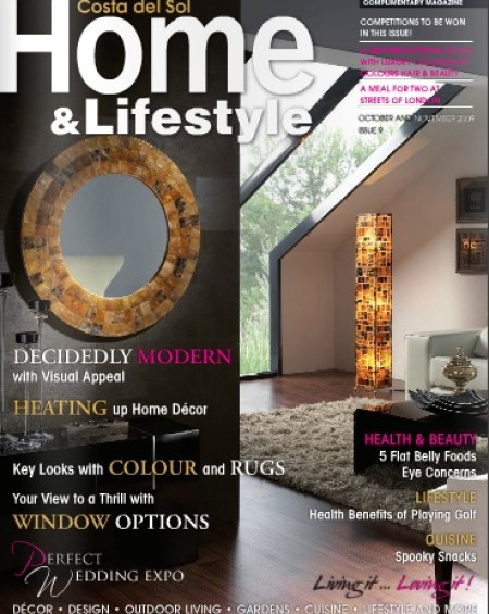 Home Lifestyle Magazine October November 2009 Online Edition Home Lifestyle Magazine Spain S No 1 English Language Home Design Magazine