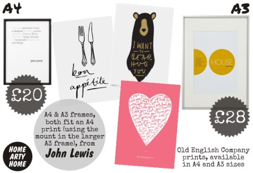 John Lewis Frames A3 | lajulak.org