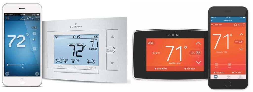 Emerson ST55 vs ST75 - Home automation tech
