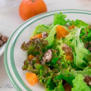 Refreshing tangy citrus fruit salad
