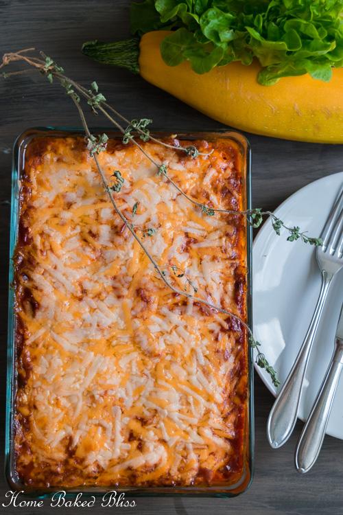 Cheesy Eggplant Lasagna