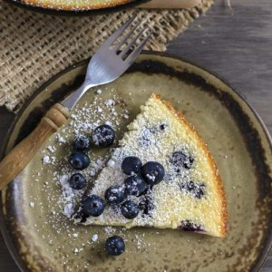 blueberry clafoutis, clafoutis, French dessert, easy dessert, dessert, blueberry recipe, 10 minute dessert