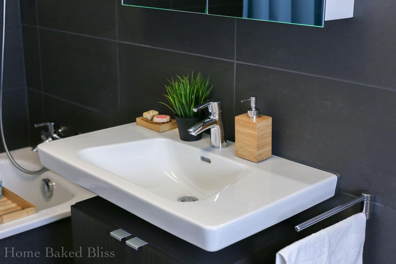 Spa Bathroom, Bathroom, Bathroom Decor, Decorate Bathroom, IKEA Bathroom,  Bamboo Bathroom