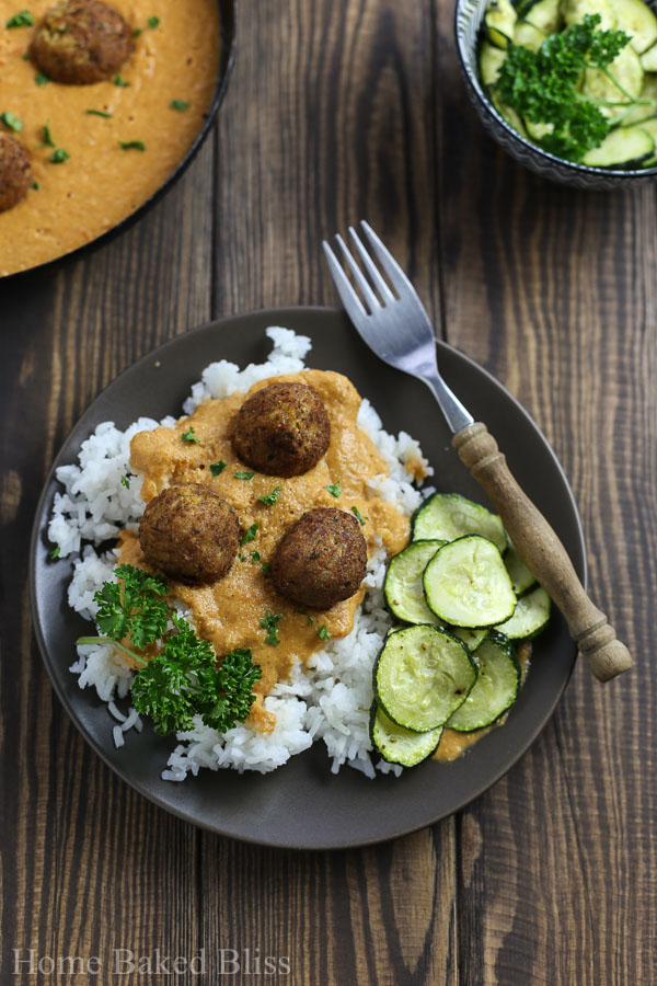 Falafel with garam masala sauce and rice home baked bliss falafel garam masala sauce rice garam masala indian food indian recipe forumfinder Gallery