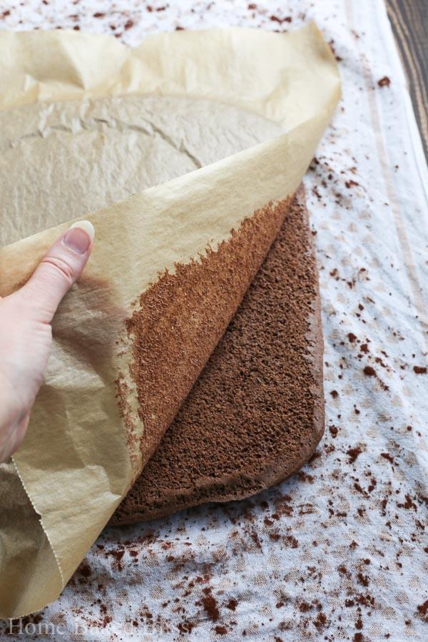chocolate mint roll recipe