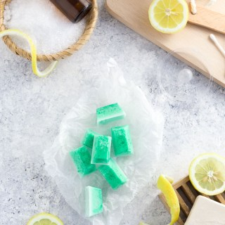Eucalyptus bath melts are a relaxing and fragrant way to upgrade your bath. They look like jewels and release a spa-like scent into the air. Perfect for colds, runny noses, flu, and asthma!