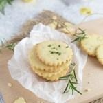 Rosemary Lemon Cookies