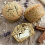 Zucchini Muffins with Cream Cheese Filling